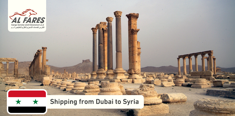 Shipping company from Dubai to Syria