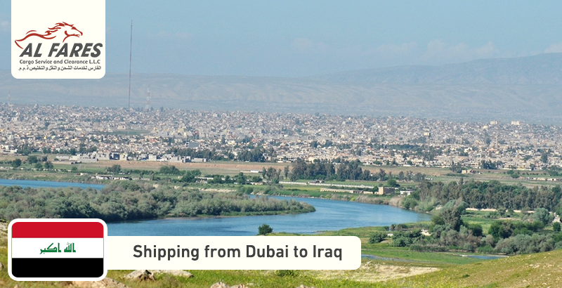 Shipping from Dubai to Iraq