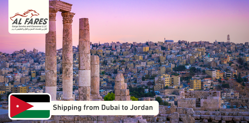 Shipping from Dubai to Jordan