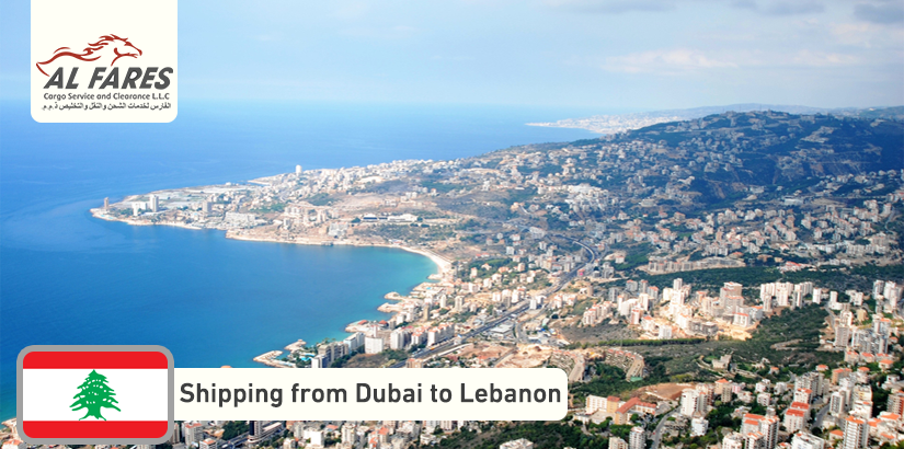 Shipping from Dubai to Lebanon