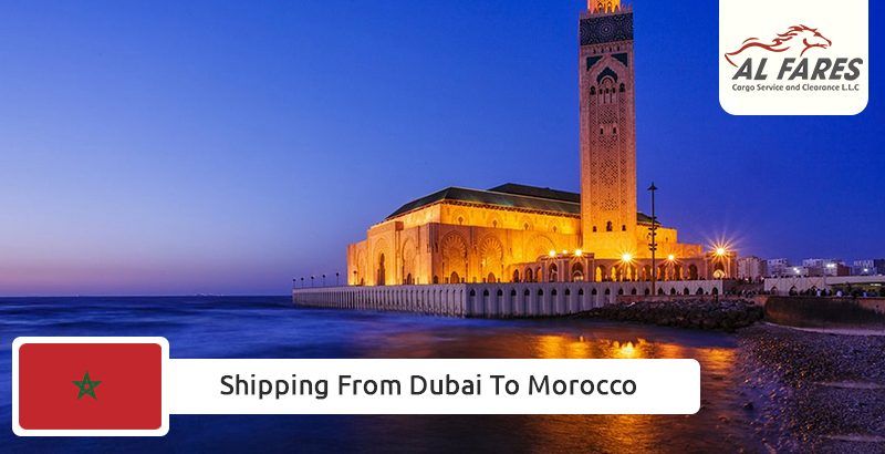 Shipping from Dubai to Morocco