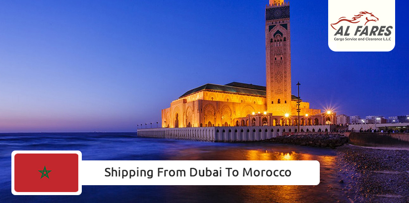 Shipping from Dubai to Morocco