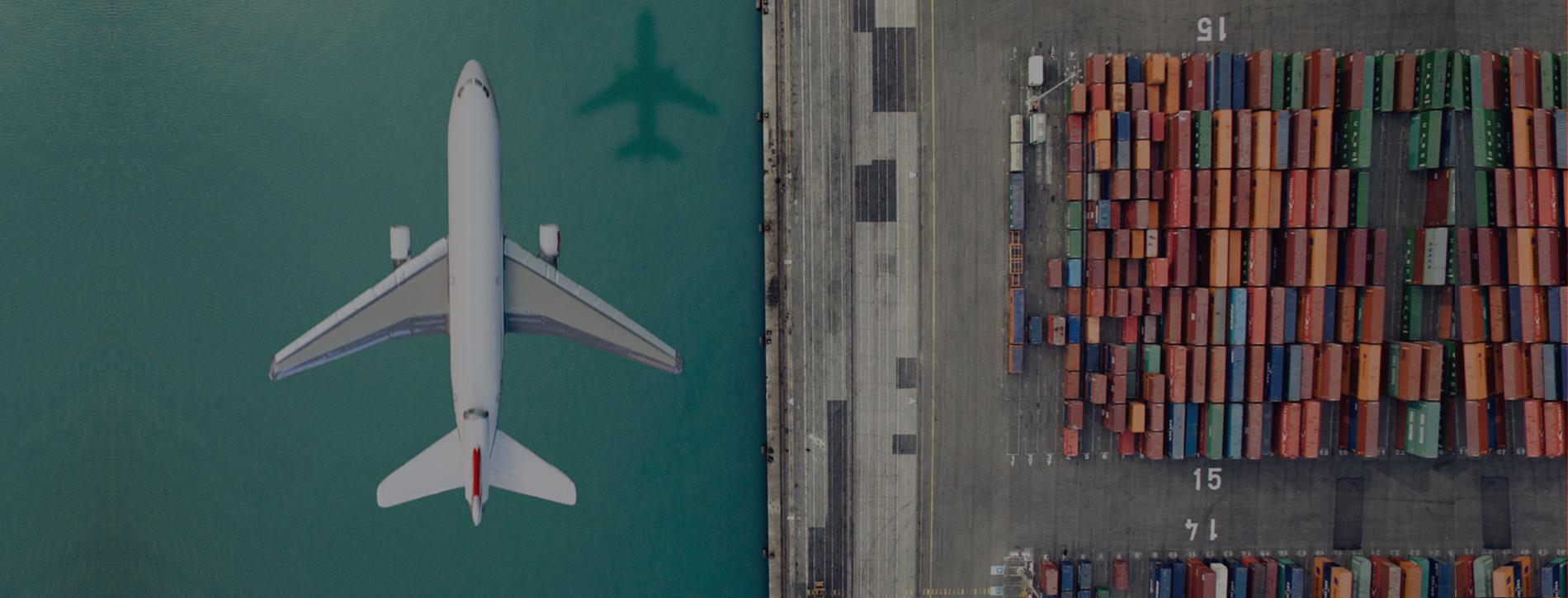 الشحن الجوي من دبي