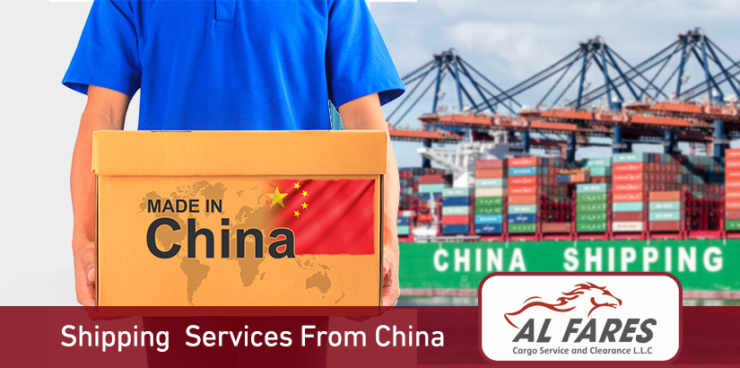 Shipping companies from China to UAE