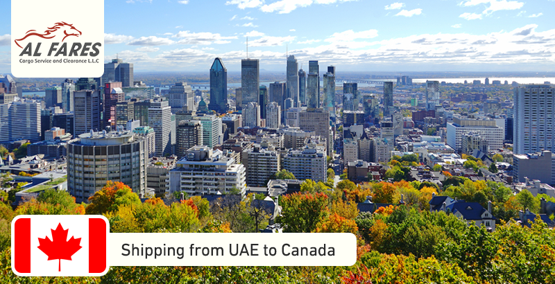 Shipping from UAE to Canada