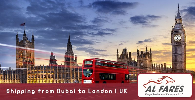 Shipping from Dubai to London | UK
