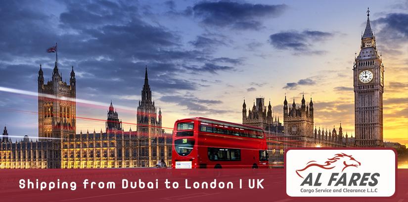 Shipping from Dubai to London | UK