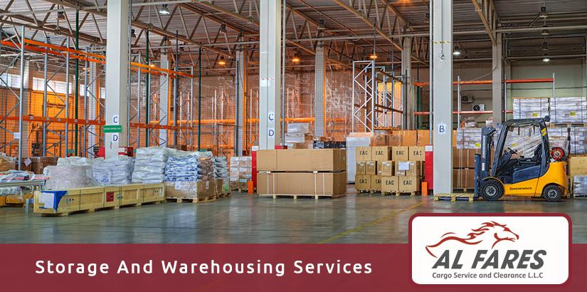storage and warehousing in dubai