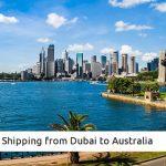 Shipping from Dubai to Australia