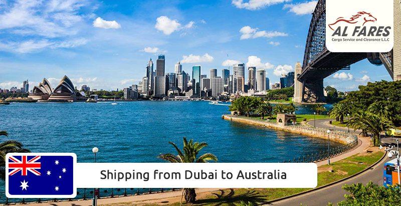 Shipping from Dubai to Australia