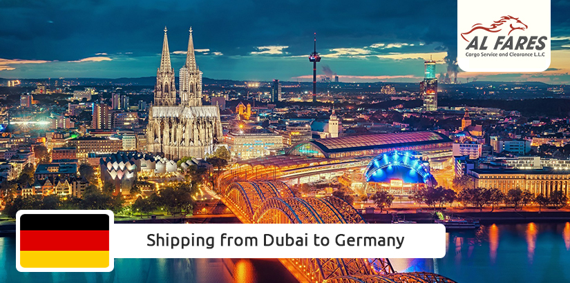 Shipping from Dubai to Germany