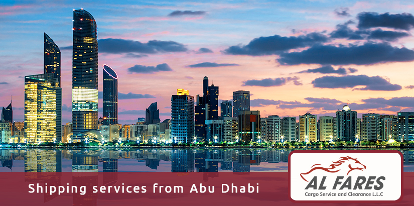 Shipping services from Abu Dhabi