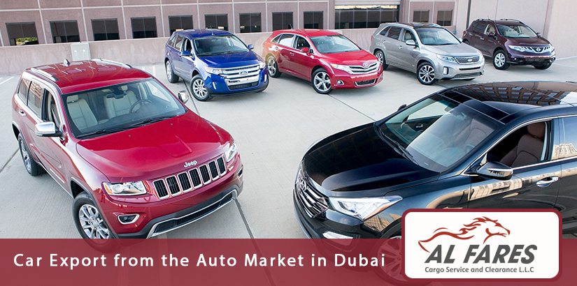 Car Export from the Auto Market in Dubai and Sharjah