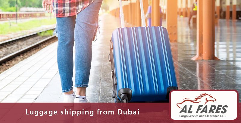 Luggage shipping from Dubai
