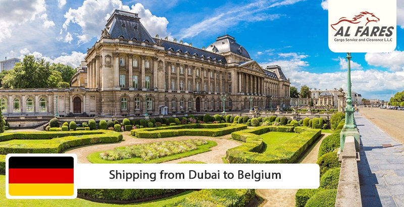 Shipping from Dubai to Belgium