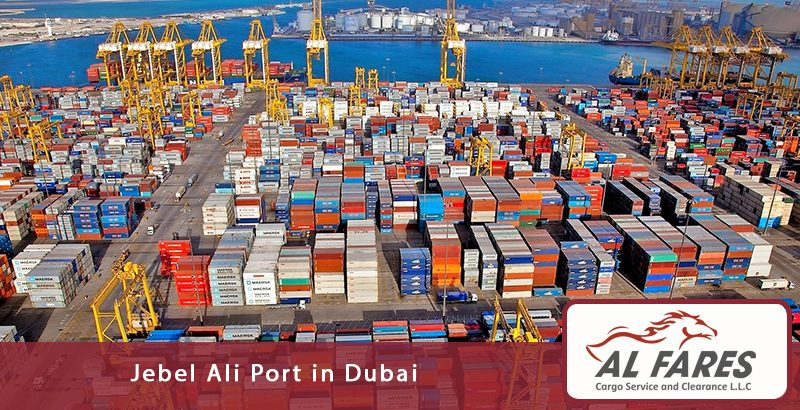 Jebel Ali Port In Dubai