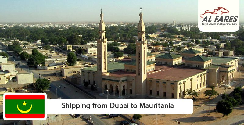 Shipping from Dubai to Mauritania