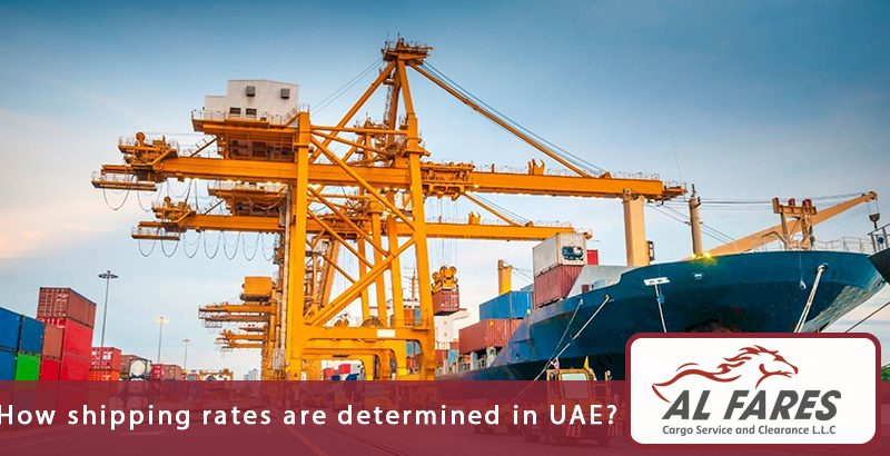 How Shipping Rates Are Determined In UAE
