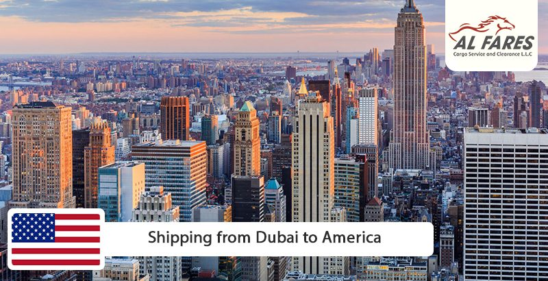 Shipping from Dubai to America