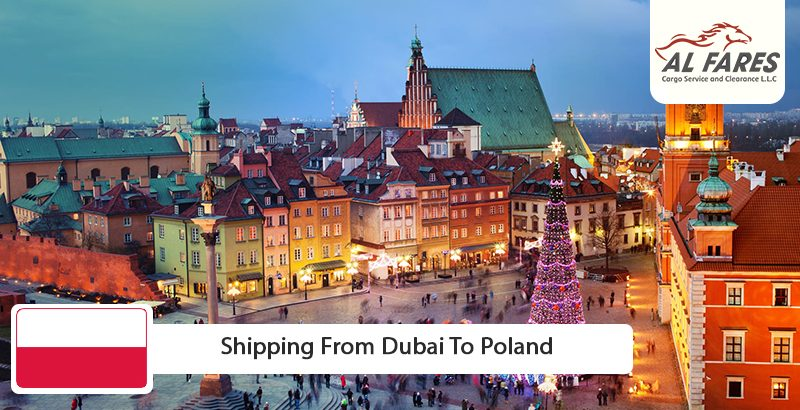 Shipping from Dubai to Poland