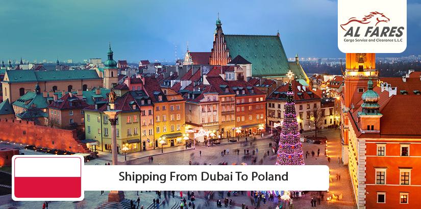 Shipping from Dubai to Poland
