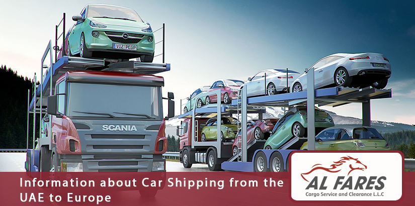Information about Car Shipping from the UAE to Europe