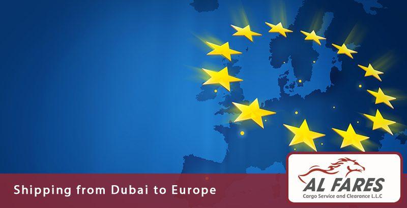 Shipping from Dubai to Europe