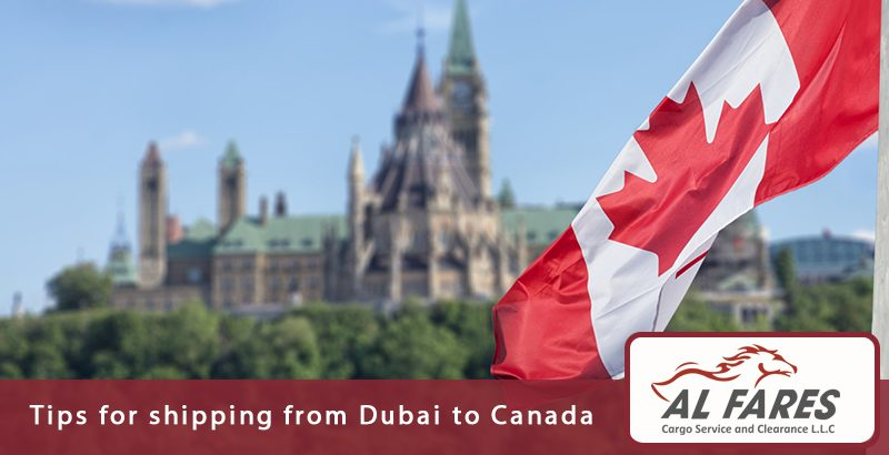 Tips For Shipping From Dubai To Canada