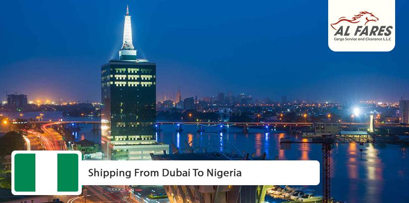 shipping from dubai to nigeria