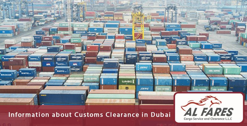 Information about Customs Clearance in Dubai