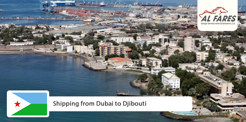 Shipping from Dubai to Djibouti