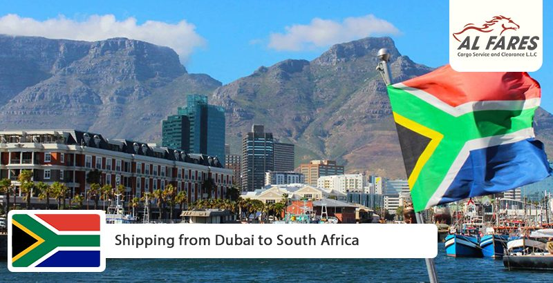 Shipping from Dubai to South Africa