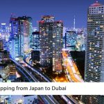 Shipping from Japan to Dubai