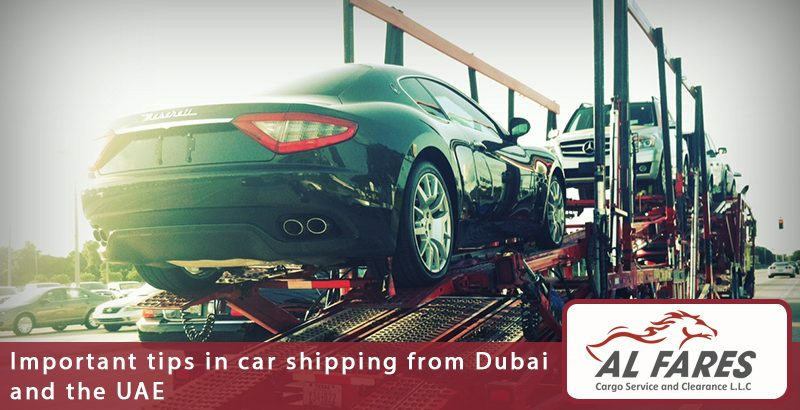Important tips in car shipping from Dubai and the UAE