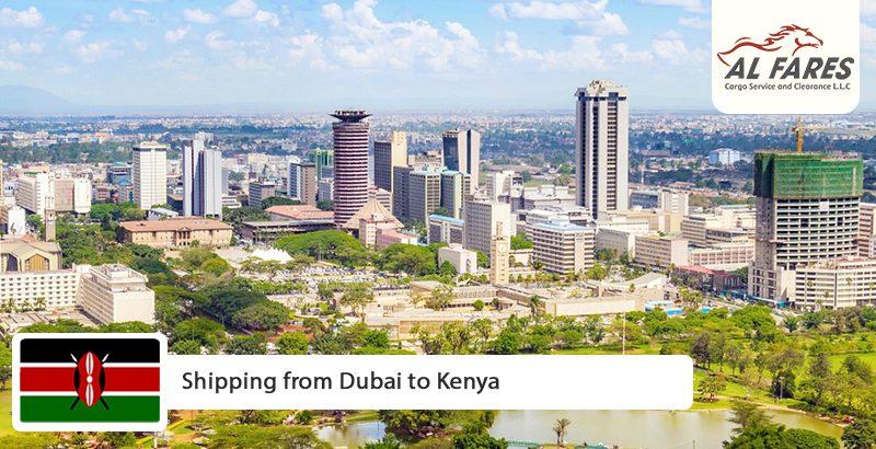 Shipping from Dubai to Kenya