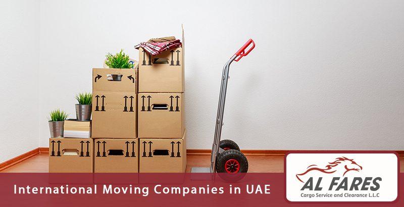 International Moving Companies in UAE
