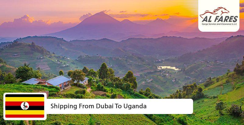 Shipping from Dubai to Uganda