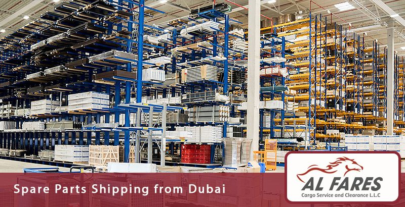 Spare Parts Shipping from Dubai