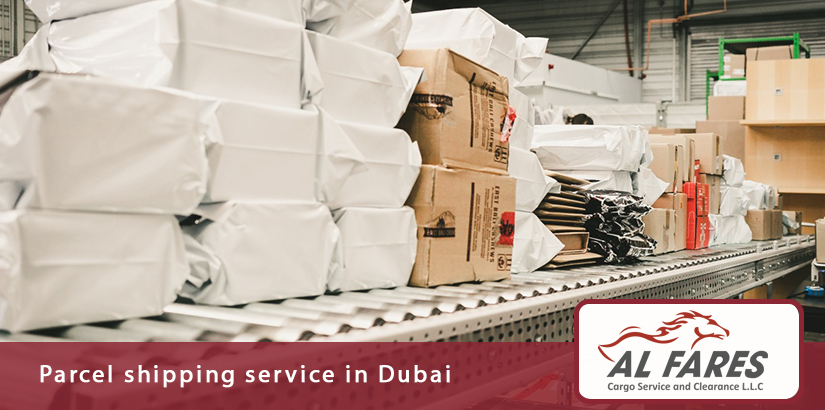 Parcel shipping service in Dubai