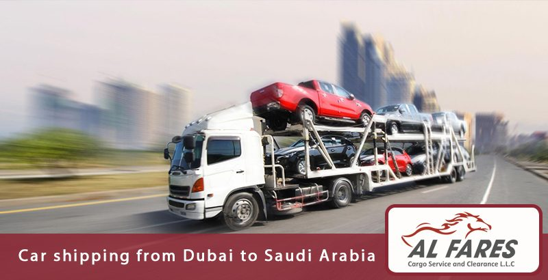 Car shipping from Dubai to Saudi Arabia