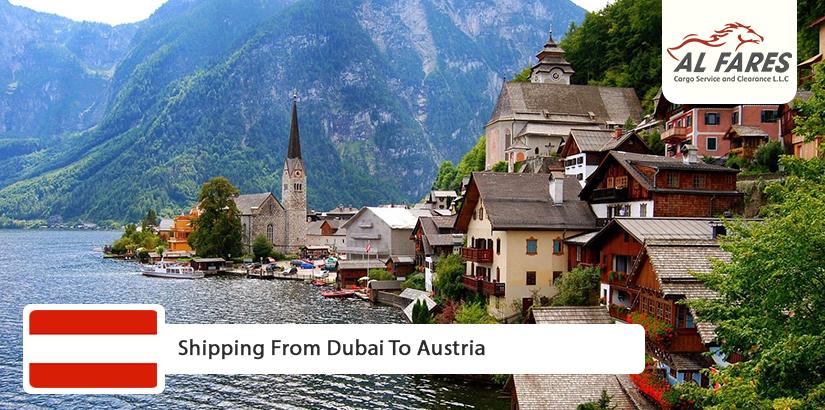 Shipping from Dubai to Austria