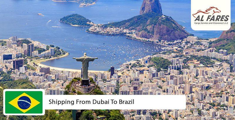 Shipping from Dubai to Brazil