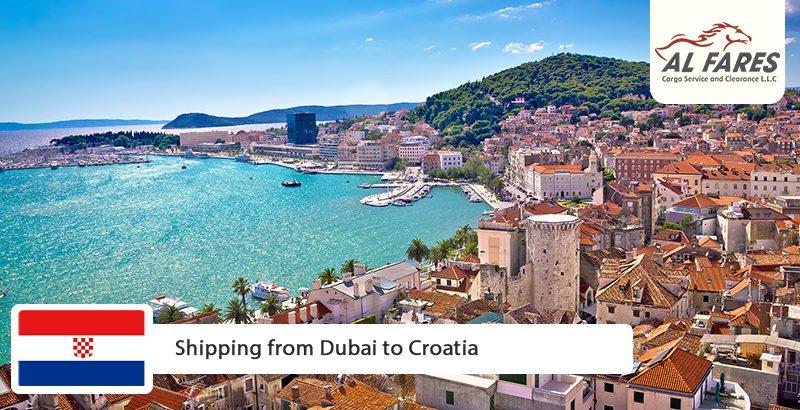 Shipping from Dubai to Croatia