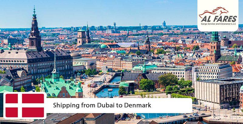 Shipping from Dubai to Denmark