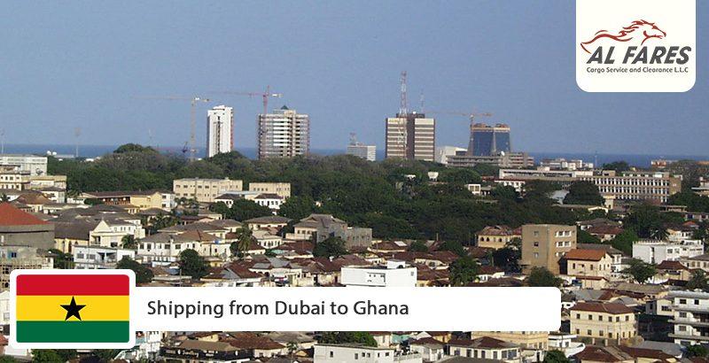 Shipping from Dubai to Ghana