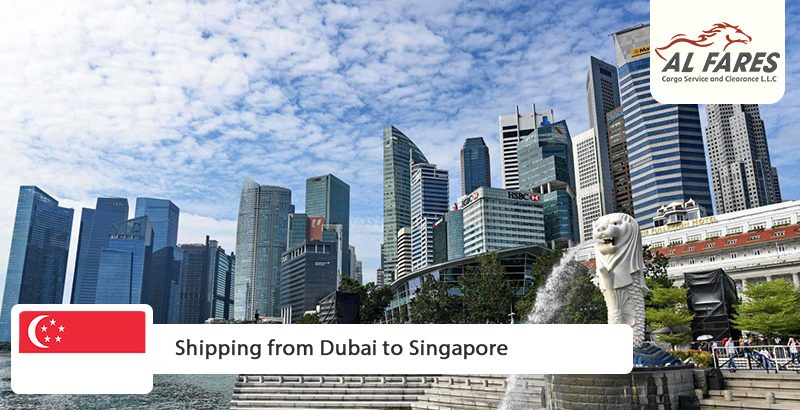 Shipping from Dubai to Singapore
