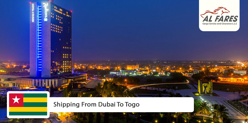 Shipping from Dubai to Togo