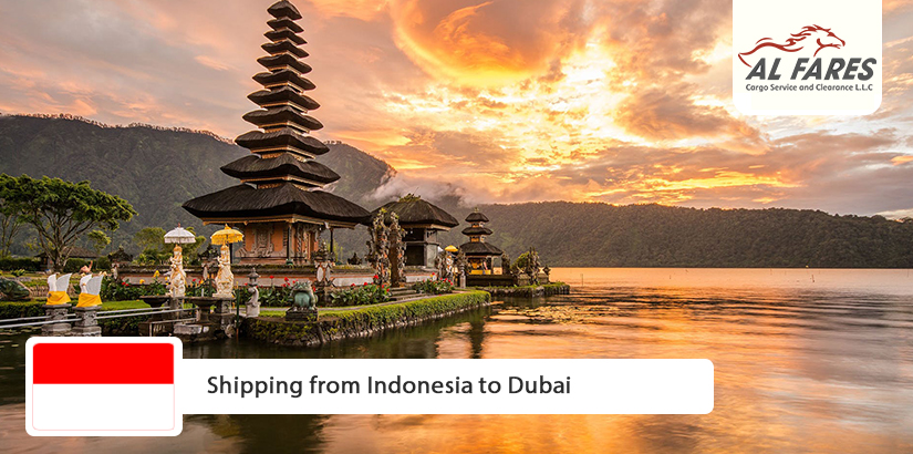 Shipping from Indonesia to Dubai