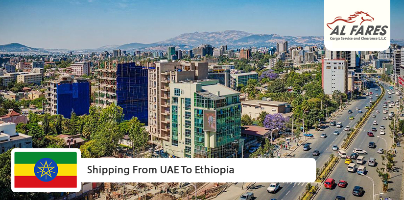 Shipping From UAE To Ethiopia