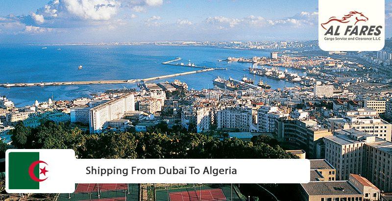 Shipping from Dubai to Algeria